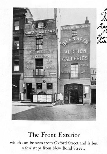 blenheim auction house