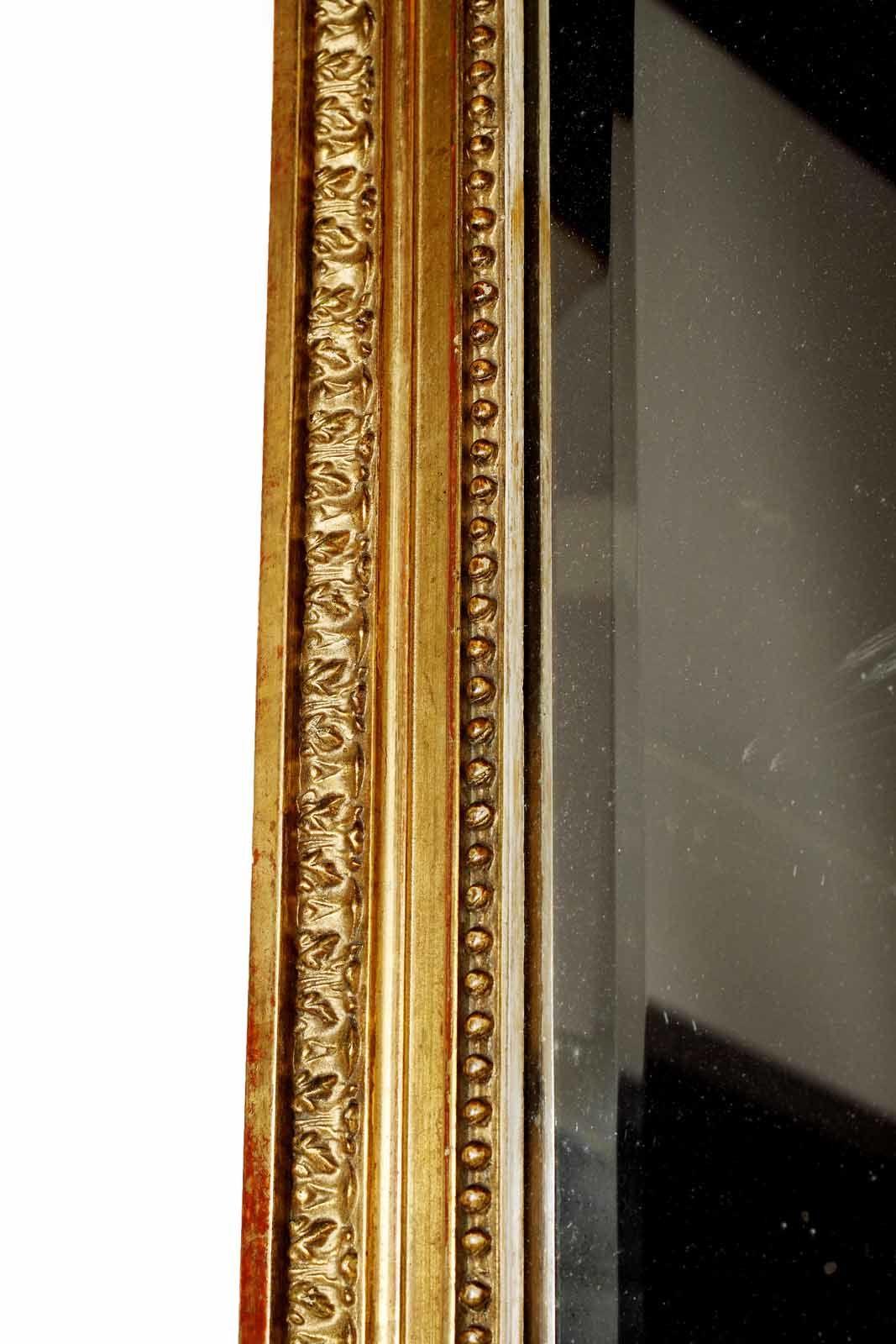 Giltwood Mirror C19th French Antique Giltwood Mirror