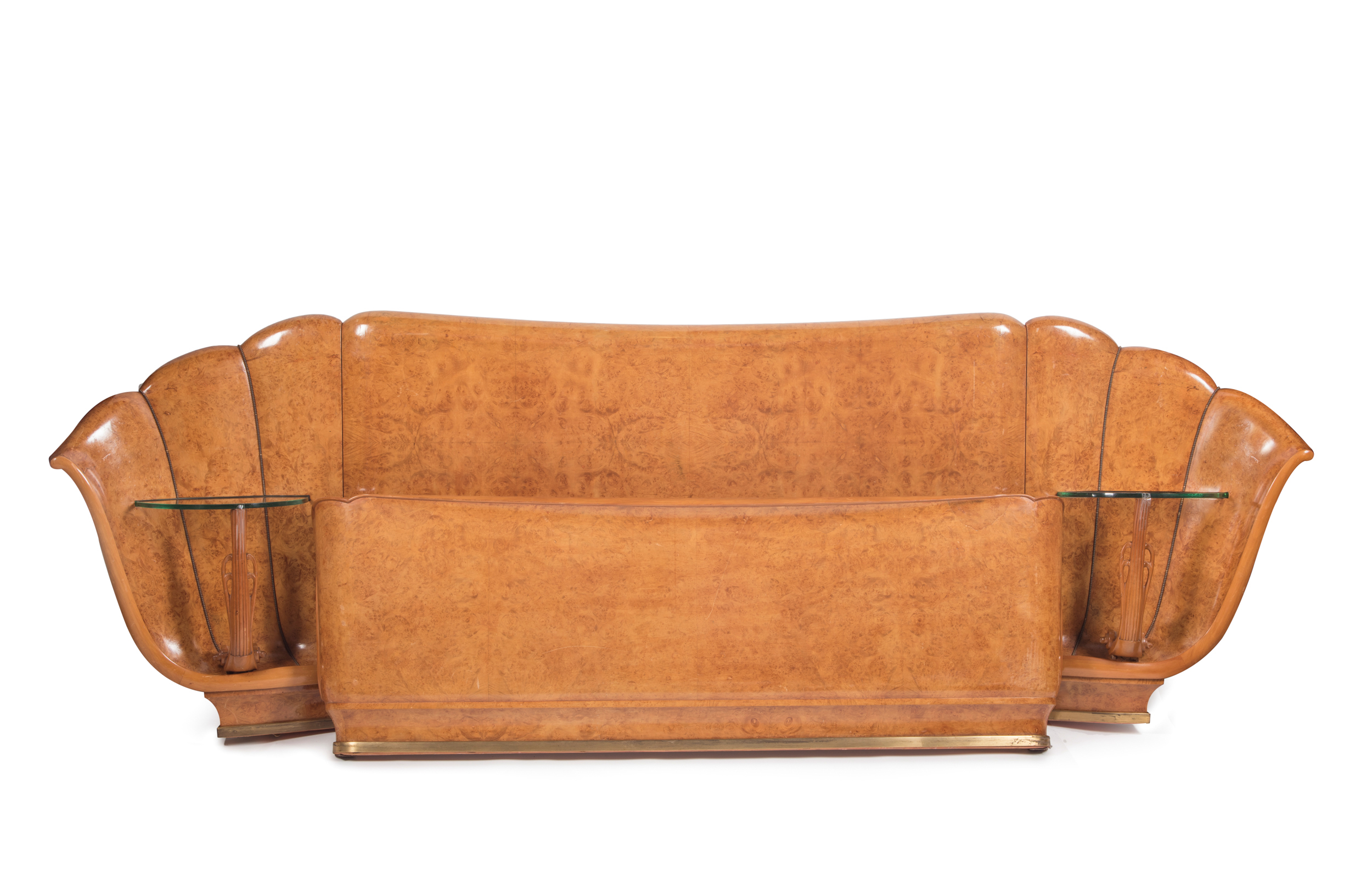 Early 20th Century French Art Deco Bed